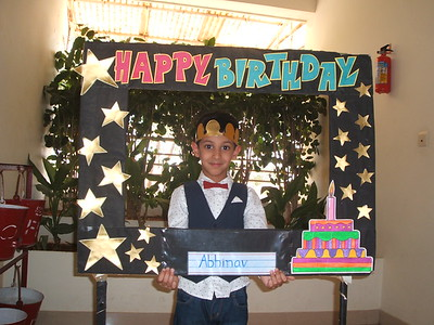 HAPPY BIRTHDAY-ABHINAV