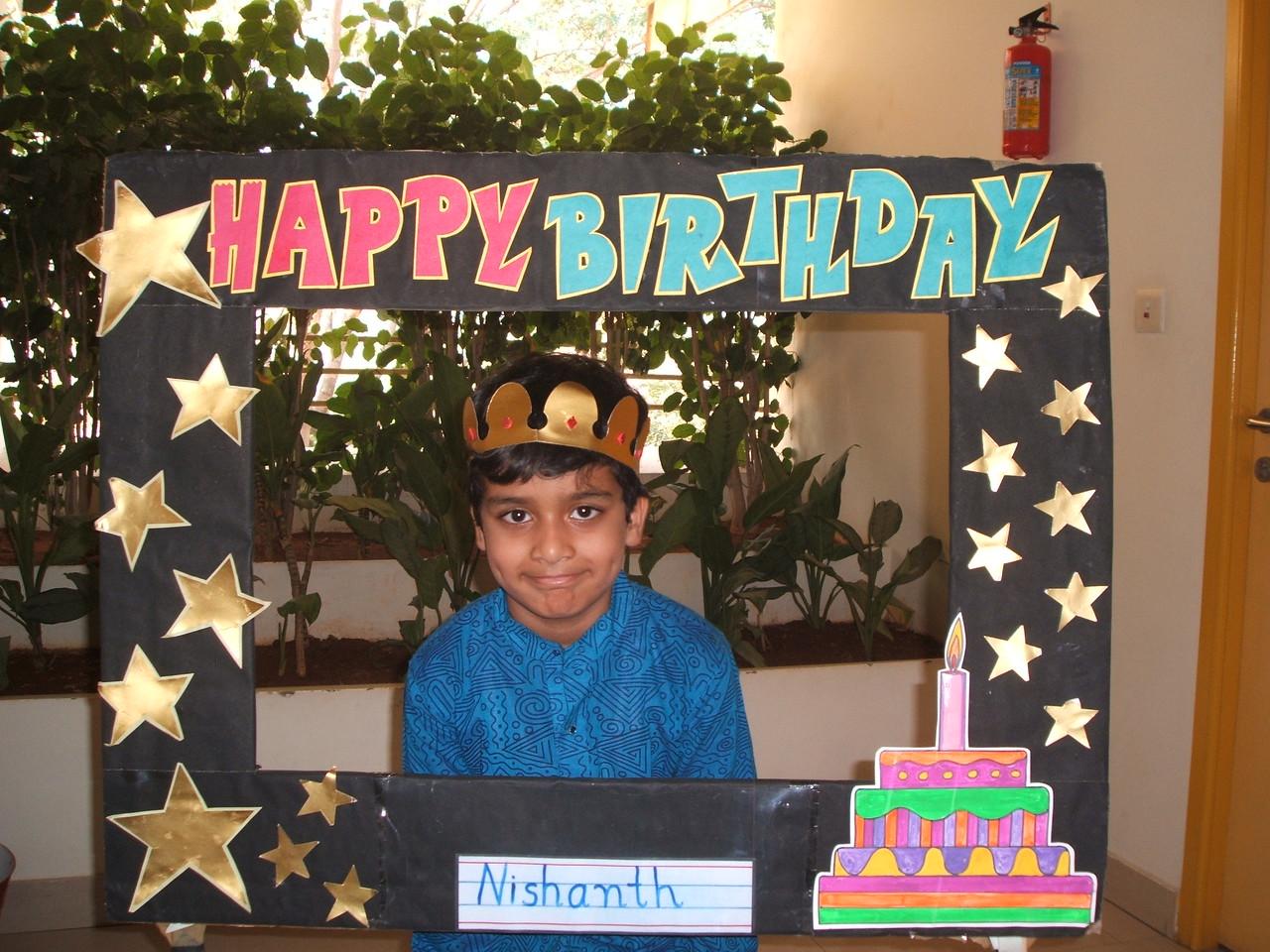 HAPPY BIRTHDAY-NISHANTH