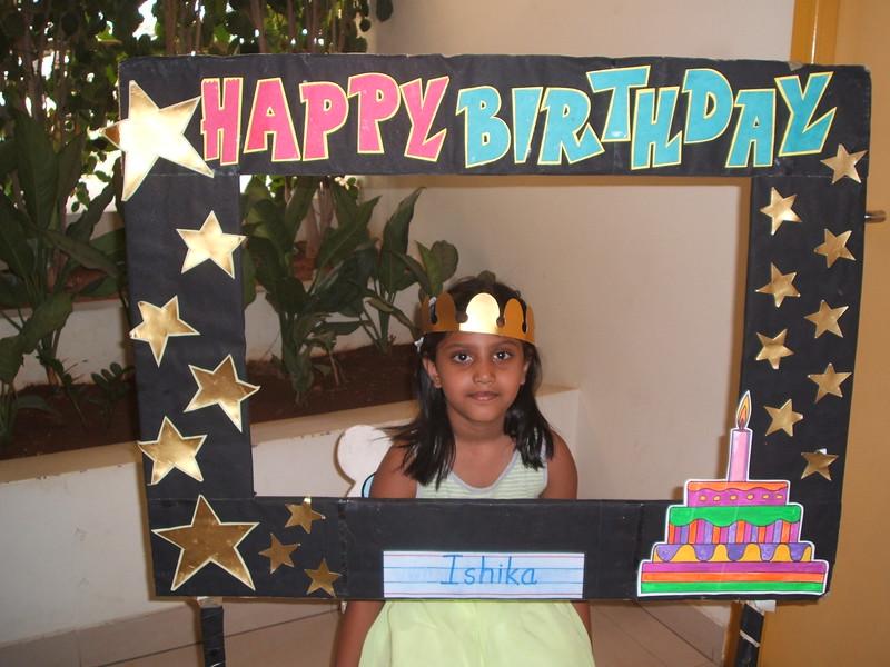 HAPPY BIRTHDAY-ISHIKA REDDY