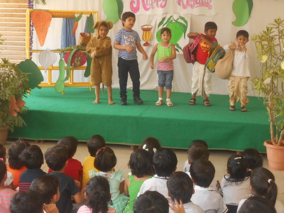 ACTION SONG BY CHILDREN DURING ASSEMBLY