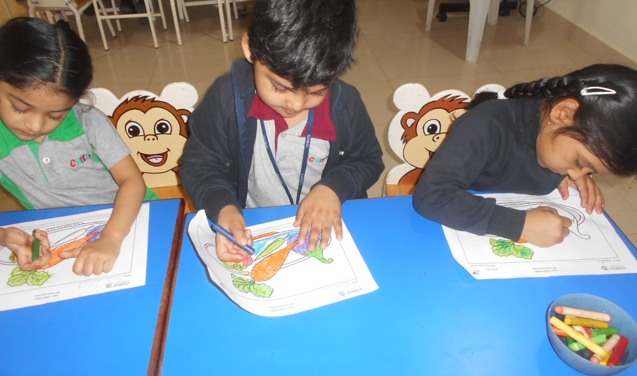 FINE MOTOR SKILLS ENHANCED THROUGH ART ACTIVITY