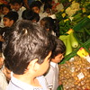 CHILDREN AT FRUIT AND VEGETABLE MARKET