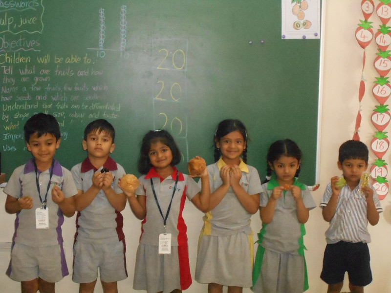 COMMUNICATION SKILLS AND COGNITIVE DEVELOPMENT THROUGH SHOW AND TELL ACTIVITY FOR THE TOPIC FRUIT BONANZA
