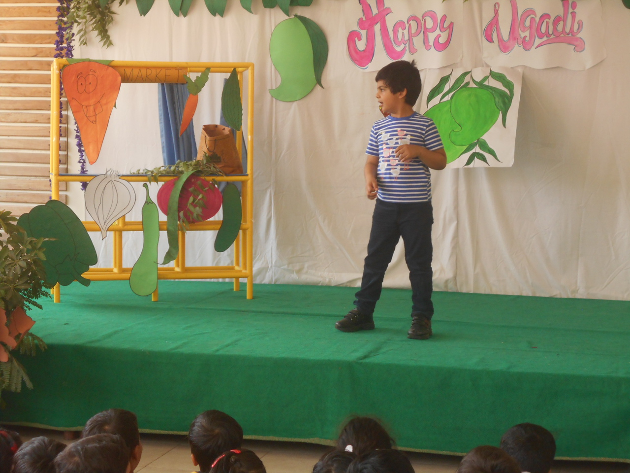 ACTION SONG DURING ASSEMBLY PRESENTATION