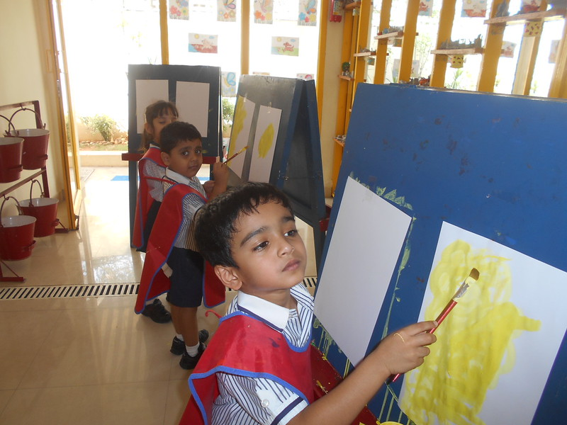 FREEHAND PAINTING BY CHILDREN 1