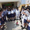 CHILDREN CURIOUS TO KNOW WHETHER  COLOUR FADE UNDER SUNLIGHT
