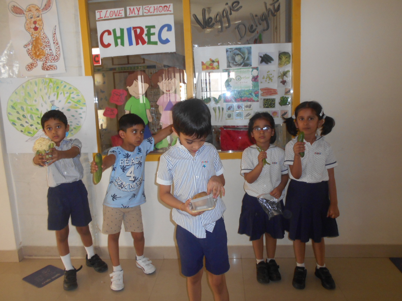 SHOW AND TELL ACTIVITY- VEGGIE DELIGHT