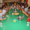 DEVELOPING SENSORIAL SKILLS - CHILDREN RELISHED THE LEMONADES PREPARED BY THEMSELVES