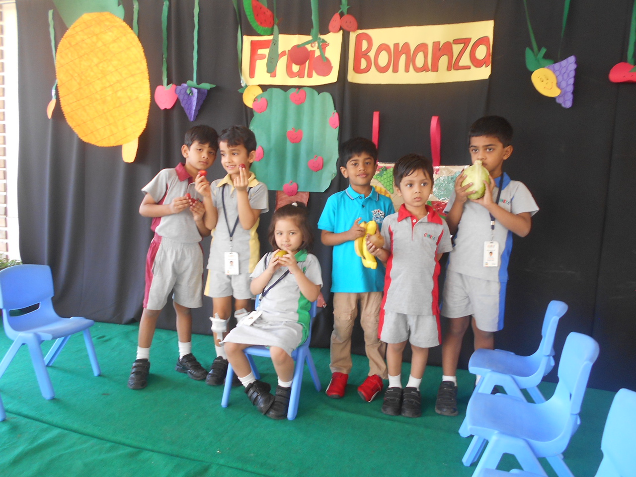 SHOW AND TELL- FRUIT BONANZA