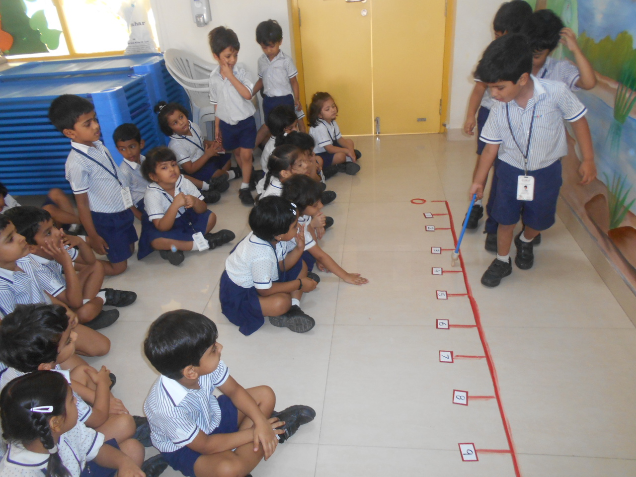 LEARNING NUMBER LINE CONCEPT