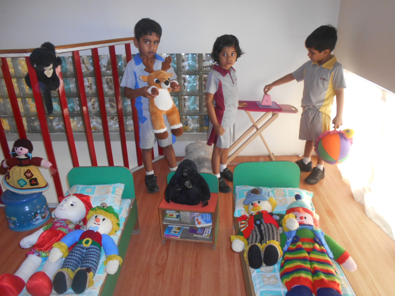 ROLE PLAY IN  DOLL HOUSE