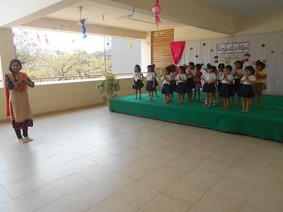 DEMO DANCE CLASS FOR NURSERY