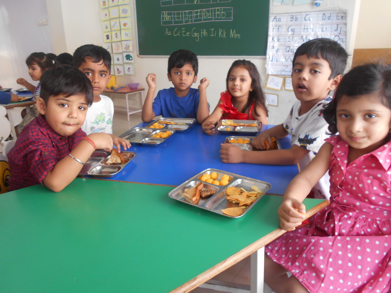 FOOD, FUN AND LAUGHTER- END OF THE YEAR CLASS PARTY