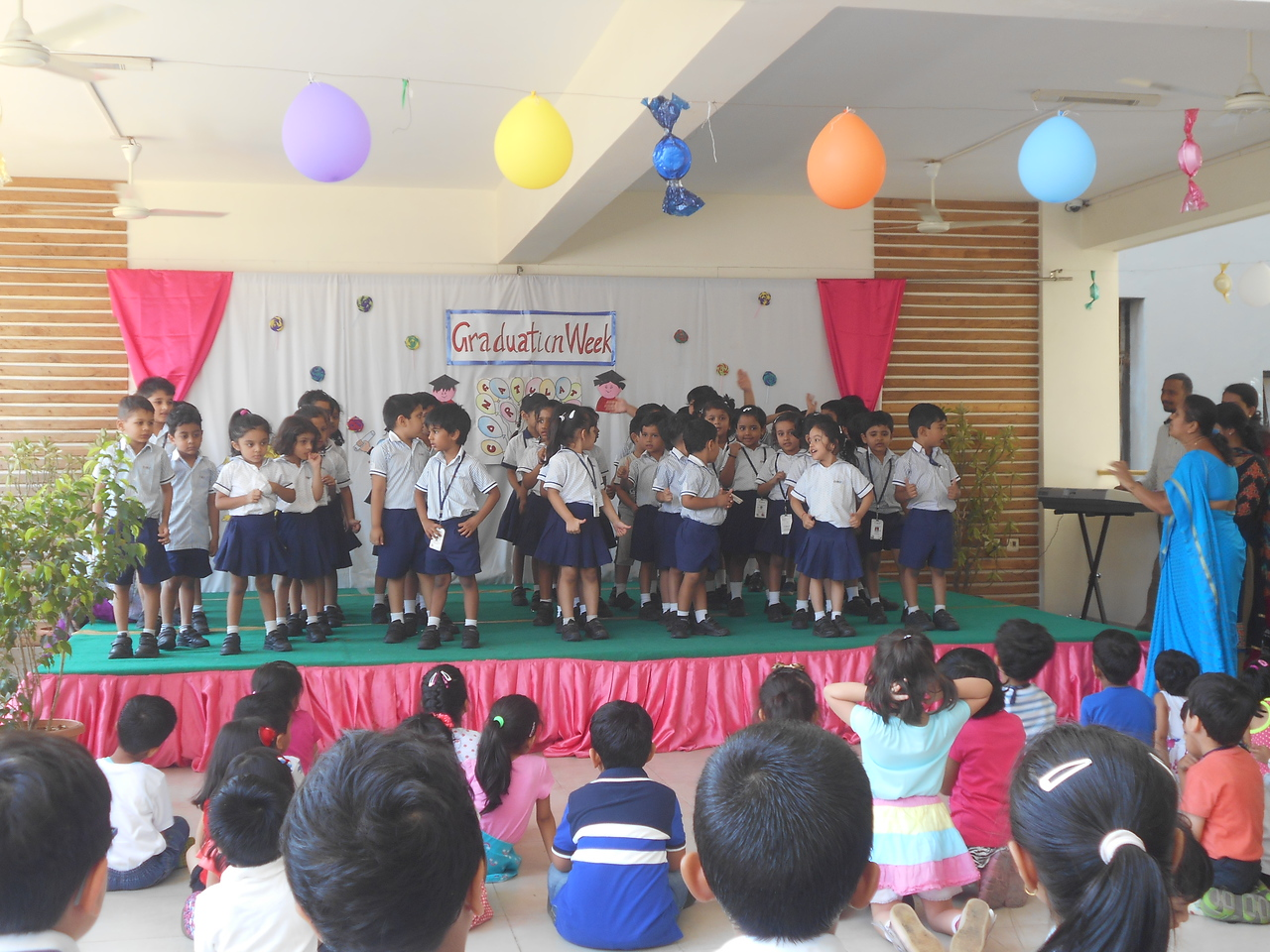 DANCING AND SINGING FOR PPII's- FAREWELL