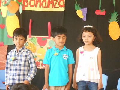 ADARSH AND RIYANSH CELEBRATING THEIR BIRTHDAY AT THE SCHOOL