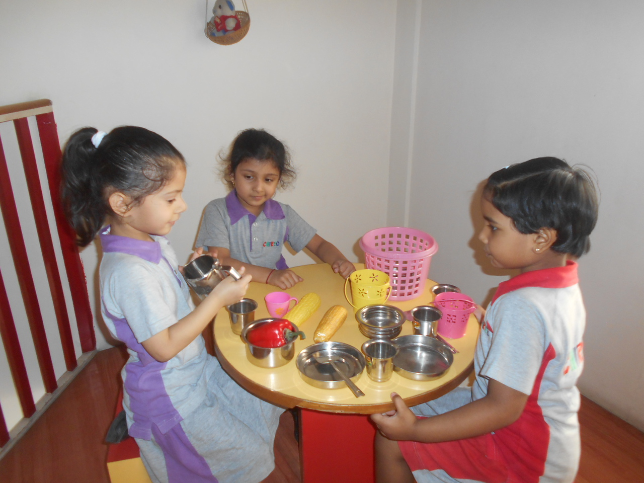 ROLE PLAY IN THE DOLL HOUSE
