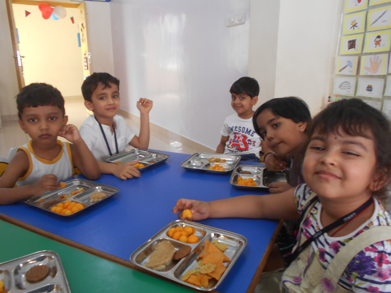 FUN AND SHARING- END OF THE YEAR CLASS PARTY