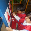 DEVELOPING FINE MOTOR SKILLS AND CREATIVE SKILLS- EASEL BOARD PAINTING (4)