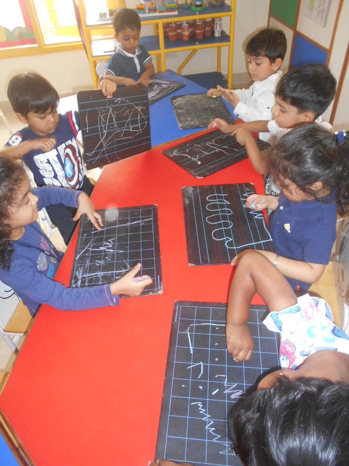DEVELOPING FINE MOTOR SKILLS BY USING SLATE (1)