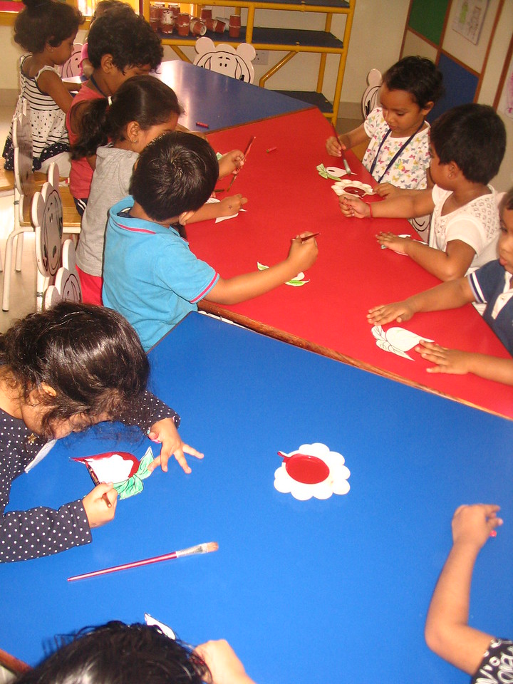 DEVELOPING FINE MOTOR AND EYE HAND COORDINATION- PAINTING ACTIVITY (10)
