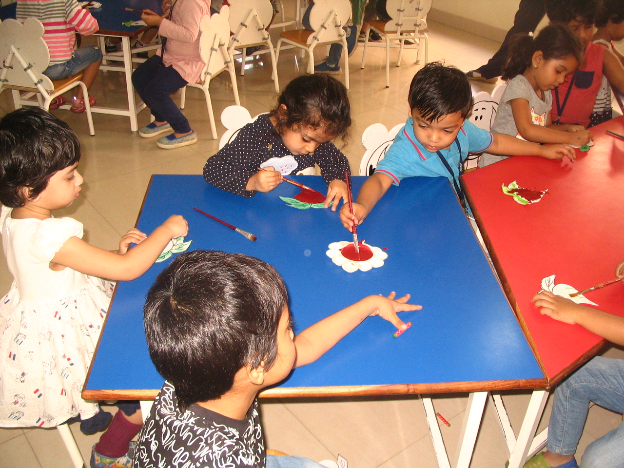 DEVELOPING FINE MOTOR AND EYE HAND COORDINATION- PAINTING ACTIVITY (5)