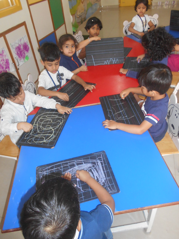 DEVELOPING FINE MOTOR SKILLS BY USING SLATE (3)