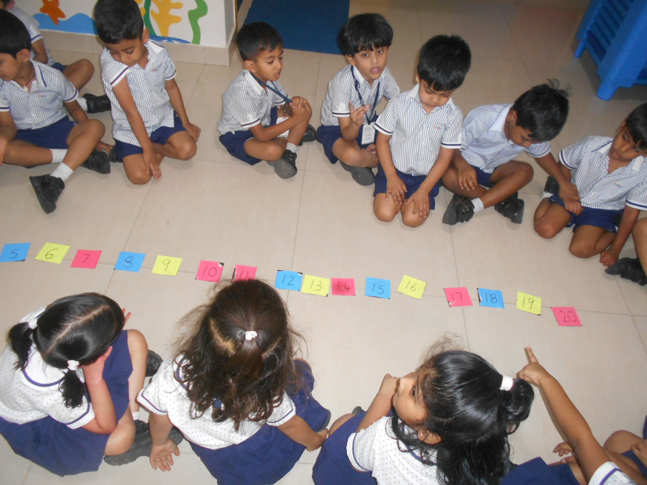 SEQUENCING OF NUMBERS 1 TO 20