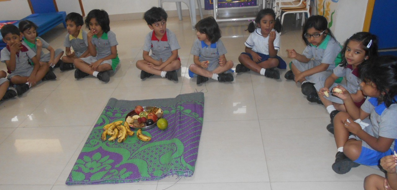 SENSORIAL ACTIVITY OF TASTING VARIOUS FRUITS3