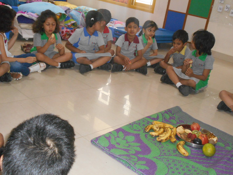 SENSORIAL ACTIVITY OF TASTING VARIOUS FRUITS2