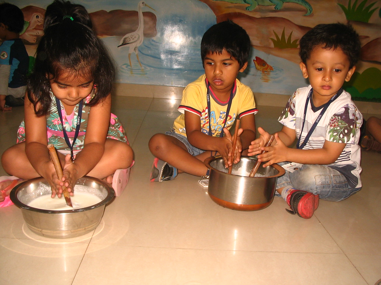 DEVELOPING FINE MOTOR, SENSORIAL AND SOCIAL SKILLS THROUGH CHURNING ACTIVITY (1)