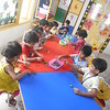 DEVELOPING FINE MOTOR AND SOCIAL SKILLS - PLUCKING CURRY LEAVES (2)