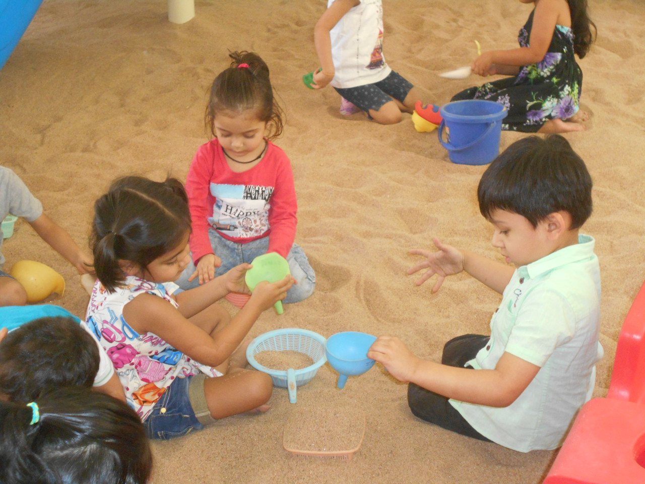 DEVELOPING FINE MOTOR AND SOCIAL SKILLS