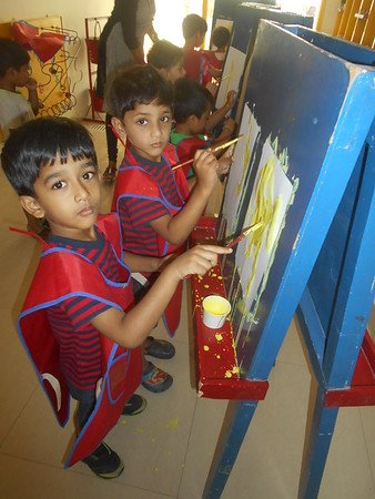 DEVELOPING CREATIVE, FINE MOTOR AND SOCIAL SKILLS THROUGH PAINTING ACTIVITY (1)