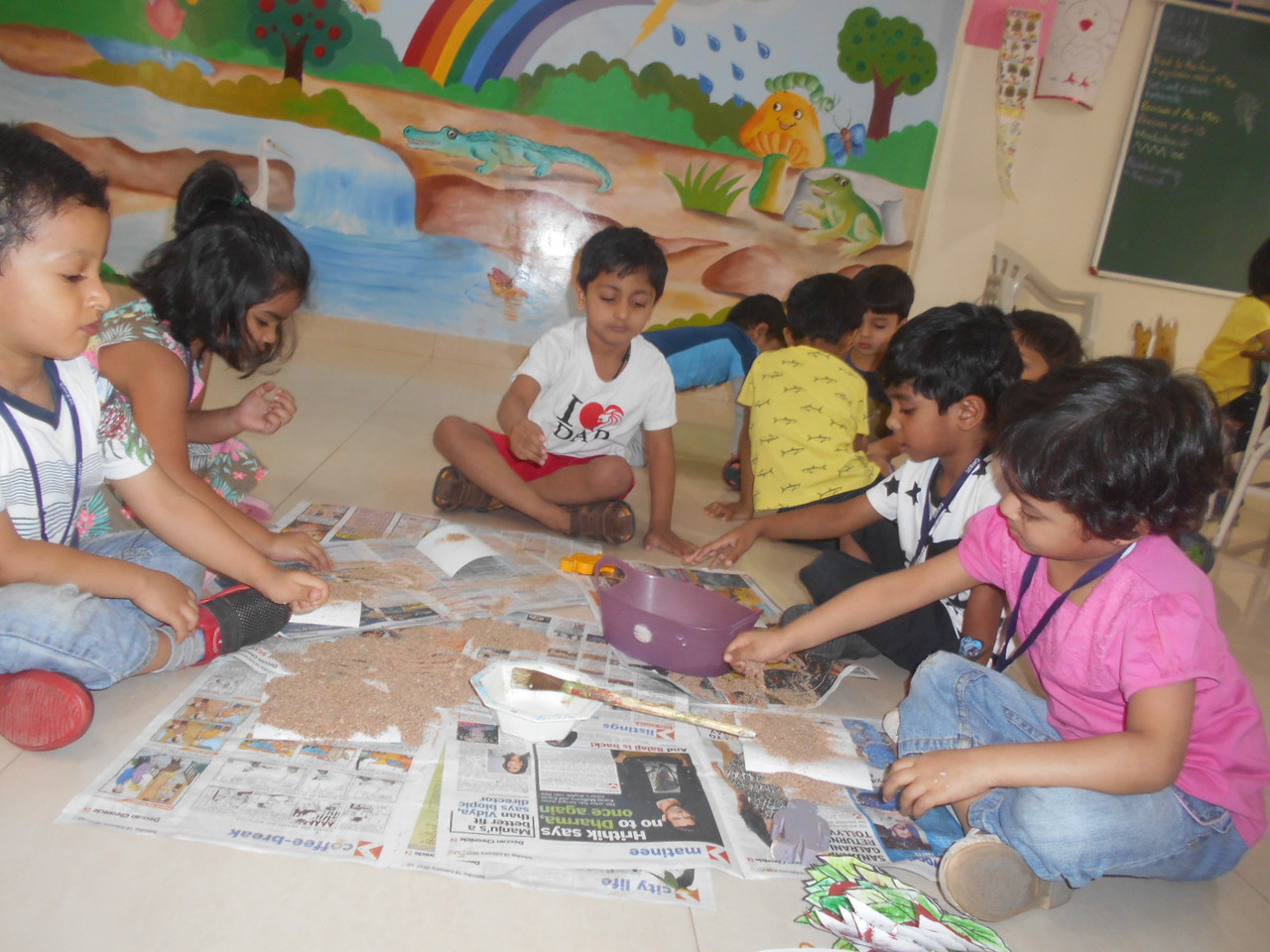 DEVEOPING FINE MOTOR, SENSORIAL AND SOCIAL SKILLS THROUGH SAND POURING ACTIVITY (1)