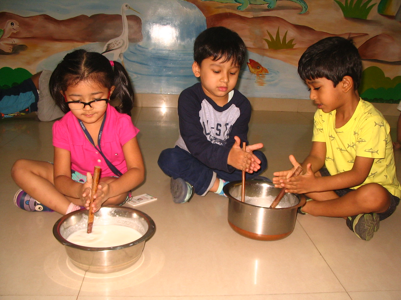 DEVELOPING FINE MOTOR, SENSORIAL AND SOCIAL SKILLS THROUGH CHURNING ACTIVITY (3)