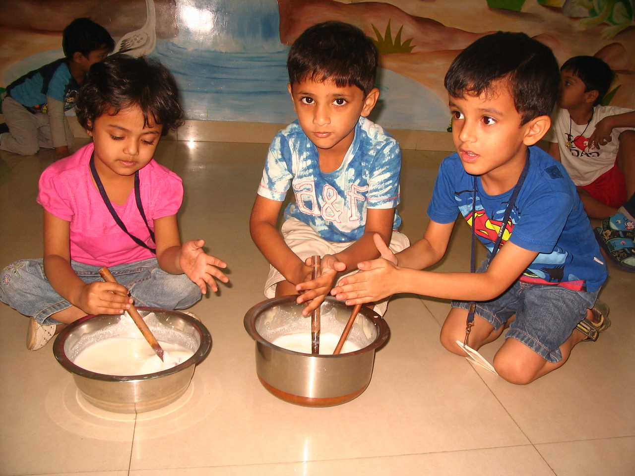 DEVELOPING FINE MOTOR, SENSORIAL AND SOCIAL SKILLS THROUGH CHURNING ACTIVITY (5)