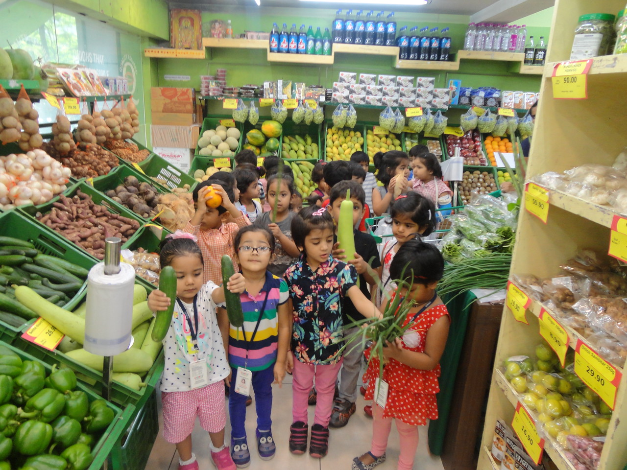 DEVELOPING SOCIAL, COGNITIVE AND COMMUNICATION SKILLS THROUGH FIELD TRIP TO MARKET (5)
