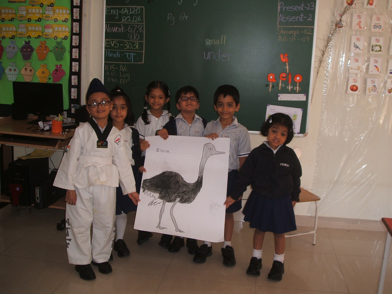 DEVELOPING LANGUAGE AND PRESENTATION SKILLS - GROUP ACTIVITY ON THE TOPIC FLIGHTY FRIENDS