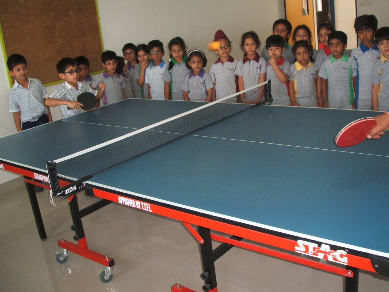 DEVELOPING OBSERVING SKILLS  DURING THE TOPIC OUTDOOR AND INDOOR GAMES - TABLE TENNIS