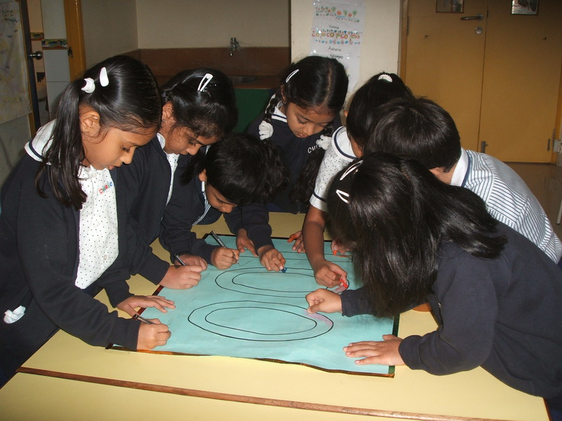 DEVELOPING NUMEARACY SKILLS- GROUP WORK COMPLETION OF NUMBER NAME