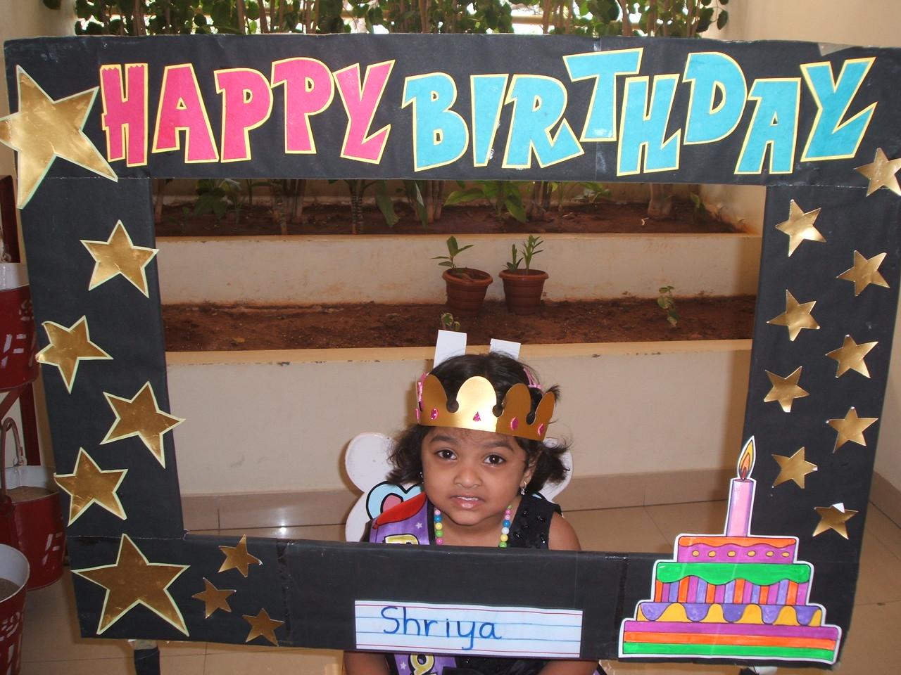 HAPPY BIRTHDAY-SHRIYA