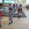 DEVELOPING GROSS MOTOR SKILLS DURING  P E T CLASS