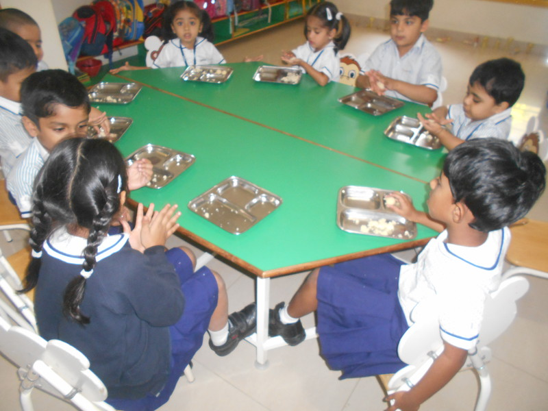 SENSORY EXPERIENCE MAKING LADDUS DURING DIWALI CELEBRATION