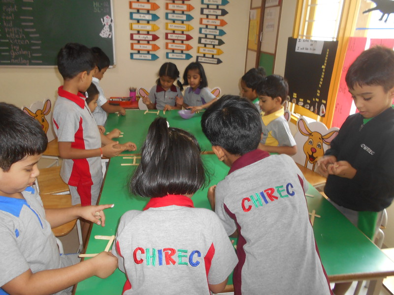 DEVELOPING COGNITIVE AND SOCIAL SKILLS - MAKING OF FENCE FOR FARM ANIMALS