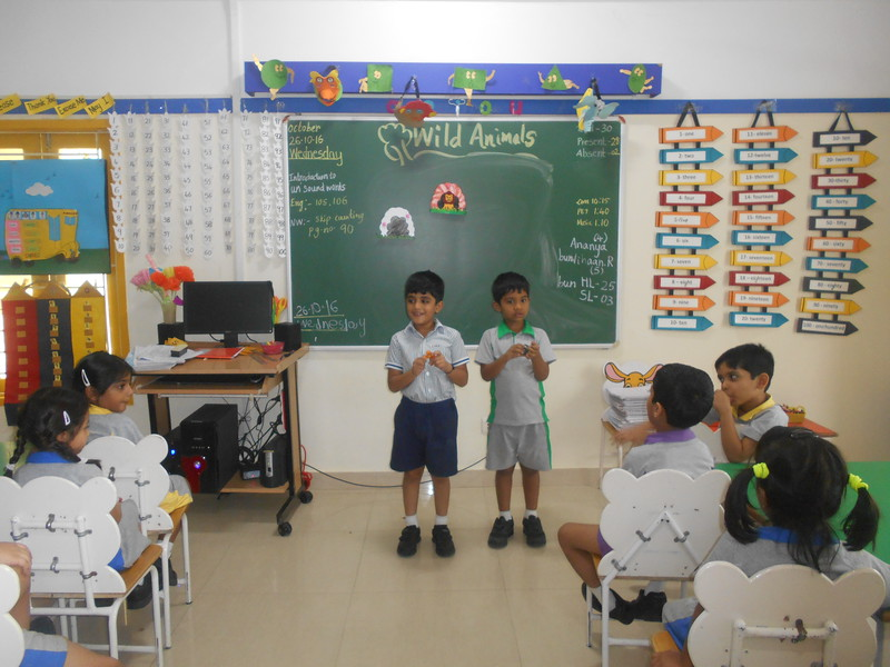 DEVELOPING LANGUAGE AND PRESENTATION SKILLS DURING SHOW AND TELL ACTIVITY (WILD ANIMALS)