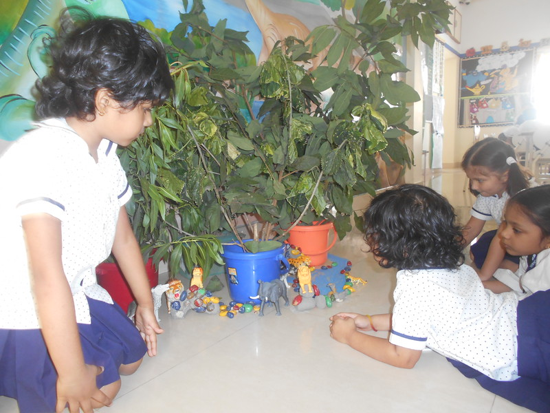 DEVELOPING COGNITIVE SKILLS DURING  THE TOPIC WILD ANIMALS