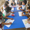 DEVELOPING CREATIVE AND FINE MOTOR SKILLS DURING PAINTING CLASS