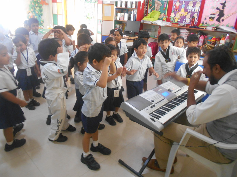 DEVELOPING CREATIVE SKILLS- SIMBAS IN MUSIC SESSION
