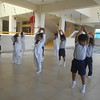 DEVELOPING GROSS MOTOR SKILLS - WARMING UP DURING TAEKWONDO CLASS