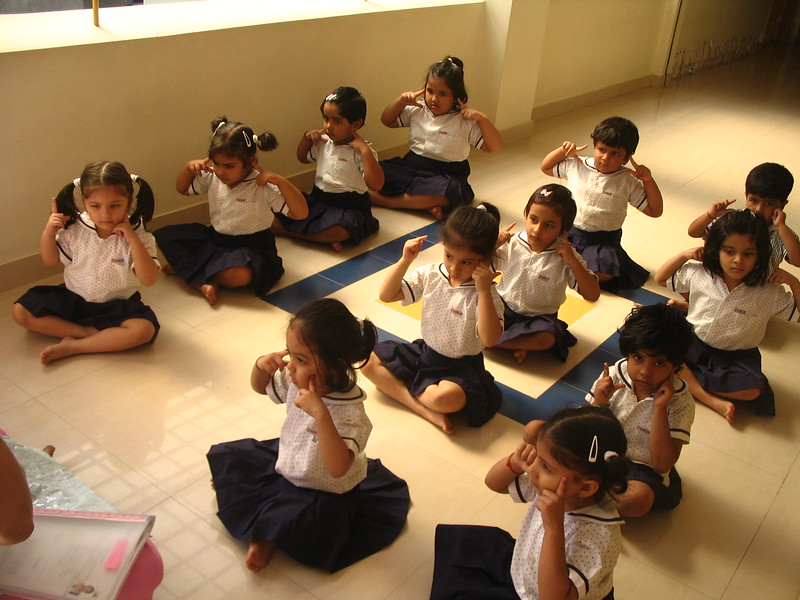 DEVELOPING CREATIVE SKILLS DURING DANCE CLASS - SHOWING MUDRAS